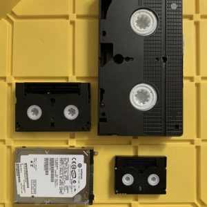 Digitize VHS & Hi8 Casette Tapes