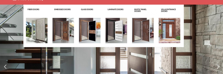 Online SalesWebDesign & Castell Steel Doors - Grafxion Creative Design Studios u0026 Web Development