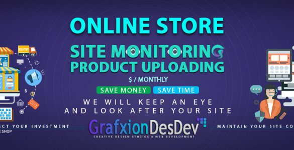 Grafxion Online Store Management