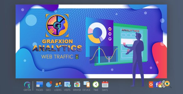 Grafxion Web Site Traffic Data Analytics