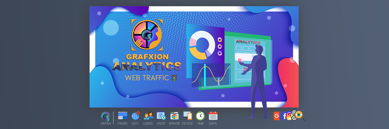 Grafxion Web Site Traffic Data Analytics