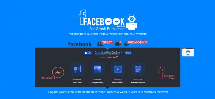 Grafxion Integration of Facebook Business Pages and Messenger