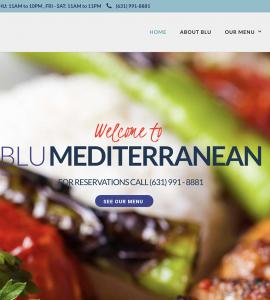 Blu Mediterranean Restaurant New York