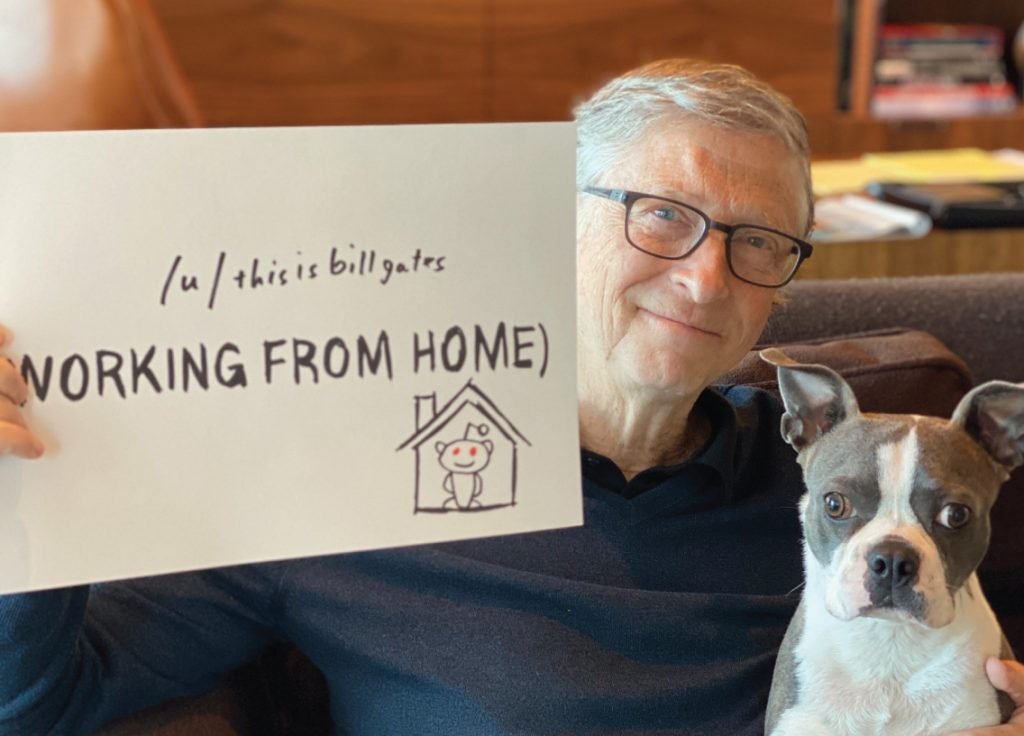 Bill Gates Notes - Working from home