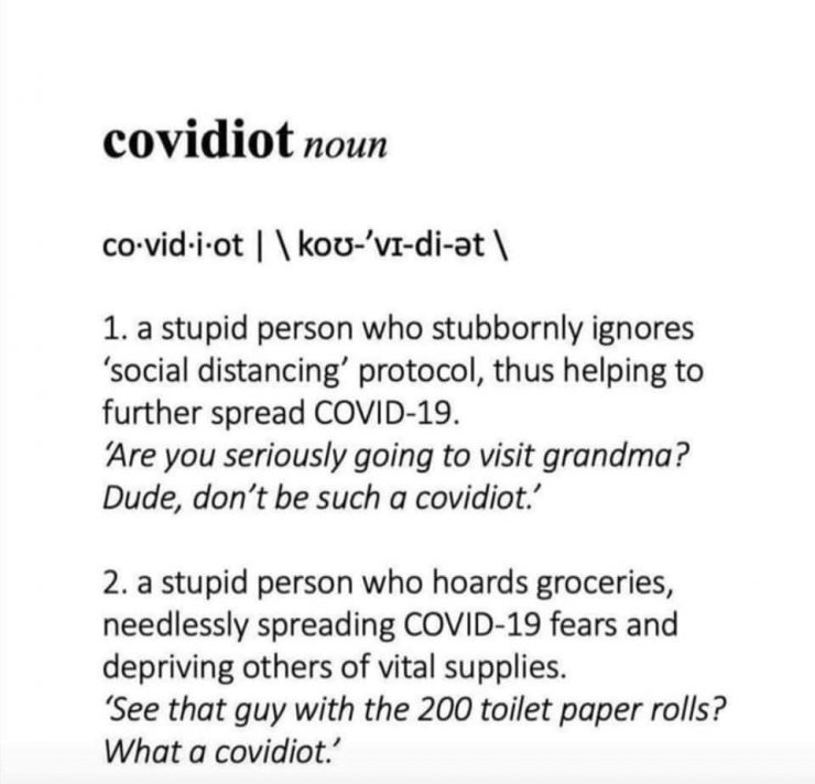 covidiot