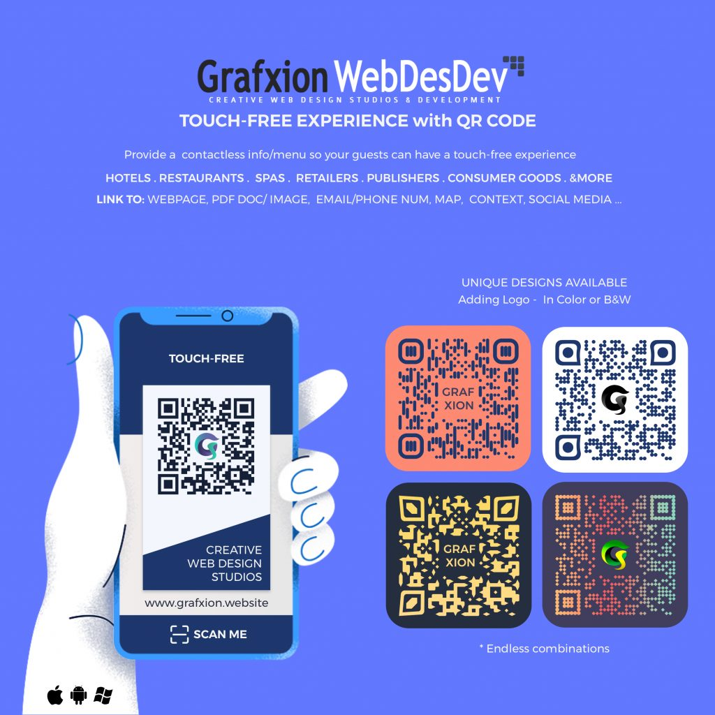 Grafxion QR Touch-free Experience